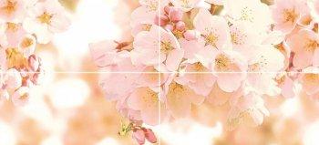 Cersanit (Cherry) (CW2H454DT) панно: Cherry (комп из 4шт)40x88