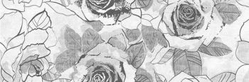 Cersanit (Sonata) (SO2S452DT) вставка: Sonata, розы, 20x60, многоцветный