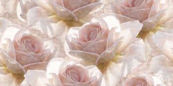 Cersanit (Royal Garden) (C-RG2L451D) вставка: Royal Garden, flower, многоцветный, 29,7x60