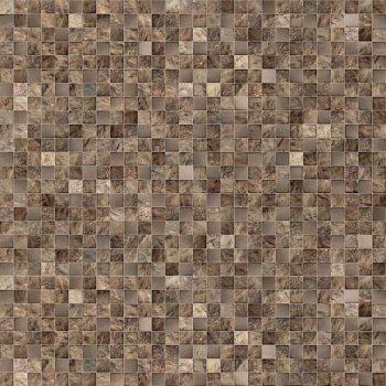 Cersanit (Royal Garden) (C-RG4R112D) глазурованный керамогранит: Royal Garden, коричневый, 42x42