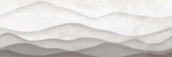 Cersanit (Haiku) HI2U091DT Декор керамический. Haiku Серый. 75*25 _ горы