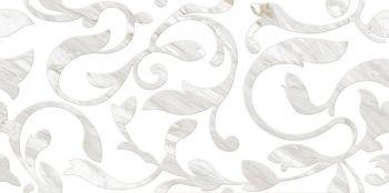 Cersanit С-RSL052D Плитка облицовочная. Royal Stone Белый. 60*29,7 _ декорированная А