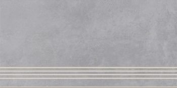 Cersanit A-TH4O096\J Плитка грес ступень Townhouse Серый. 59,8*29,7