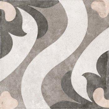Cersanit (MODERN LINE) CP4A452 Глазурованный керамогранит Carpet пэчворк многоцветный рельеф 29,8x29,8