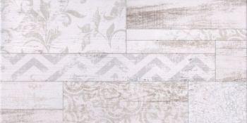 Global Tile (San Remo) GT13VG Плитка облицовочная San Remo Белая 50*25 геометрия