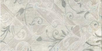 Global Tile (Silvia) GT45VG Декор керамический Silvia Серый 50*25 геометрия 1