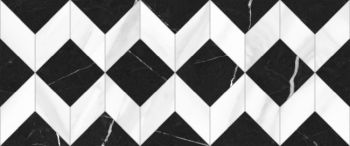 Global Tile (Aurora) 10100000450 Плитка облицовочная. Aurora Черная. 60*25 03