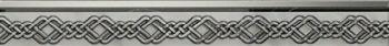 Global Tile (Aurora) 10200000061 Бордюр керамический. Aurora Серый. 60*6,5 01