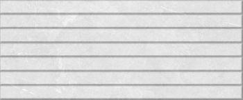 Global Tile (Fiori) 10100000513 Плитка облицовочная. Fiori  светло-серая. 60*25 03 рельеф