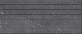 Global Tile (Fiori) 10100000515 Плитка облицовочная. Fiori  Серая. 60*25 04 рельеф