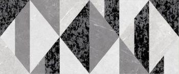 Global Tile (Fiori) 10300000132 Декор керамический. Fiori  Серый. 60*25 01