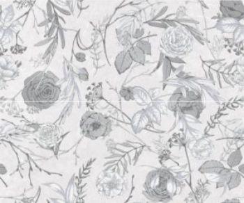 Global Tile (Genevieve) 10300000105 Декор керамический. Genevieve  Серый. 60*50 01 панно из 2 плит
