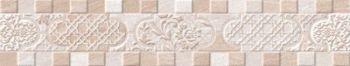 Global Tile (Ternura) 10212001903 Бордюр керамический. Ternura Бежевый. 40*7,5
