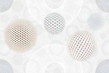 Керамин (Диско) ДИС7Д20/30/14 Декор керамический. Диско Бежевый 30*20