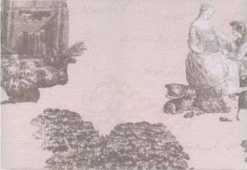 Керамин (Пастораль) ПАС3Д40/27.5/П1/13 Декор керамический. Пастораль 3 40*27,5 тип 1