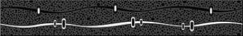 Azori Бордюр Дефиле неро 40.5*6.2  581391111