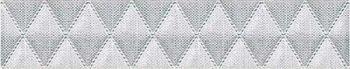 Azori Бордюр ILLUSIO GREY GEOMETRY 31.5*6,2  584311003