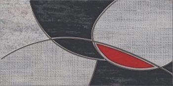 Azori Декор Pandora Grey Charm 31.5*63 плитка настенная 585712001