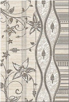 Azori Декор Сатти Кроше 40,5*27,8 плитка настенная 582902001