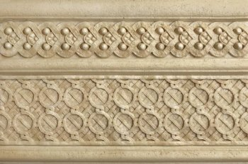 Kerasol (Armonia by Kerasol) Бордюр настенный Armonia Travertino Antico Sand Zocalo 16,5x25