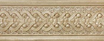 Kerasol (Armonia by Kerasol) Бордюр настенный Armonia Travertino Antico Sand Cenefa 10x25