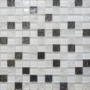 AltaCera Bella Mosaic Glass White DW7MGW00 Декор 300х300