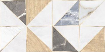 AltaCera  (DIY Triangle) Triangle Mix WT9TRI55 Плитка настенная 249*500*8.5