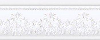 Azulejo Espanol 10x25 Cenefa Jeddah Platino бордюр настенный