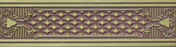 Azulejo Espanol 07x25 Cenefa Alhambra Wengue бордюр настенный