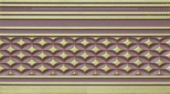 Azulejo Espanol 14x25 Zocalo Alhambra Wengue бордюр настенный