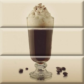 Absolut Keramika Composicion Coffee Glass 30x30
