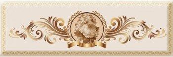 Absolut Keramika Decor Medallion Flower 01 10x30