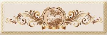 Absolut Keramika Decor Medallion Flower 03 10x30