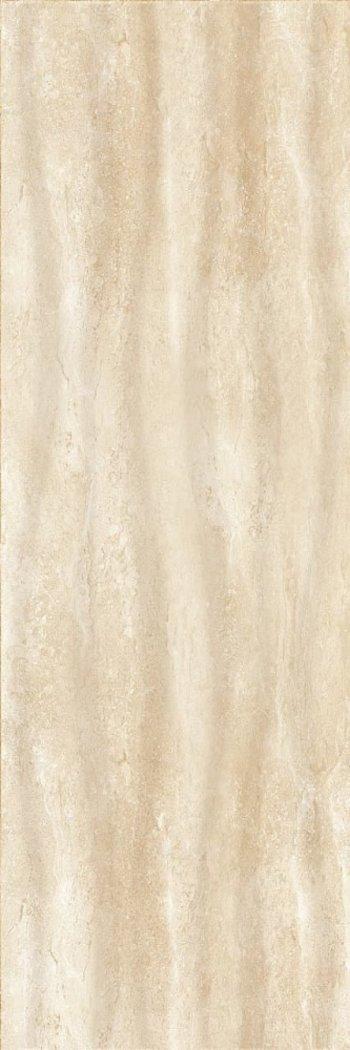 Керамическая плитка Eurotile стена Lia Biege 136 (рельеф) бежевая 29,5*89,5