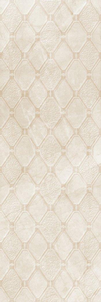 Керамическая плитка Eurotile стена DIAMONDS 162 ромбик 29,5*89,5