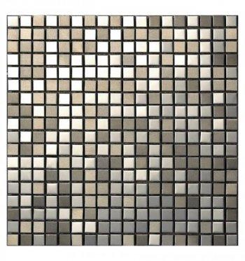 Мозаика 10-014 металл микс 300 х 300