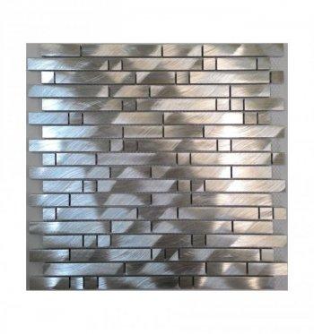 Мозаика 10-015 алюминиум стикс 300 х 306