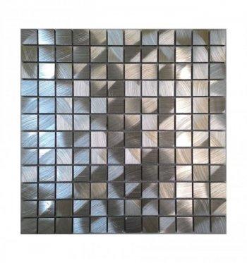 Мозаика 10-016 алюминиум 300 х 300