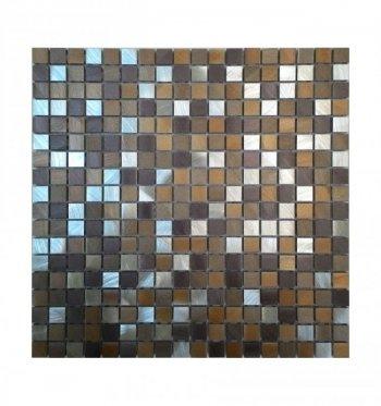 Мозаика 10-017 браун металл 300 х 300
