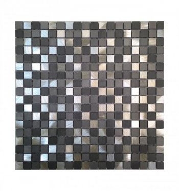 Мозаика 10-018 грей металл 300 х 300