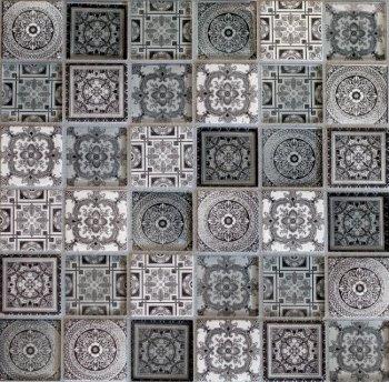 ORRO  CARPET GRAY (Декор) 300*300*8мм
