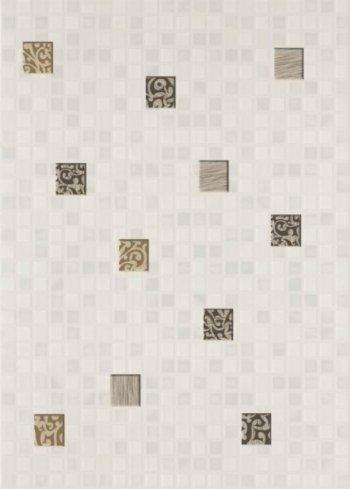 Березакерамика (Квадро) Квадро мозаика белый 25*35 Декор