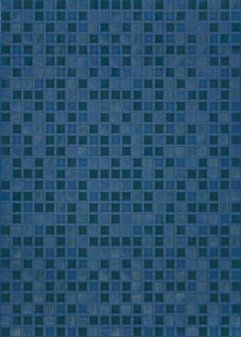 Березакерамика (Квадро) Квадро синий 25*35