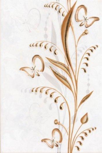 Березакерамика (Нарцисс) Декор Нарцисс лето бежевый 20*30