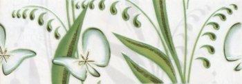 Березакерамика (Нарцисс) Фриз Нарцисс лето салатовый 20*7