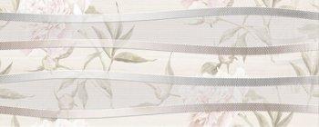 Березакерамика (Турин) Турин св.-бежевый 20*50 цветы декор
