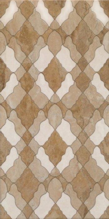 Березакерамика Флоренция декор коричневый 25*50