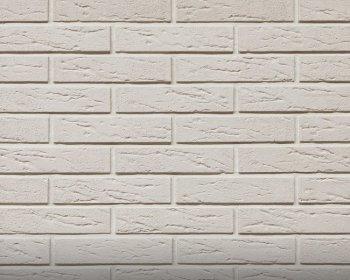 Камолов Декоративный камень, гипс Немецкий кирпич белый 240х53х6 В упаковке 1,0