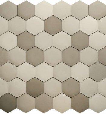 Камолов Декоративный камень, гипс Соты Рай серый пчел (Premium)  В упаковке 0,62
