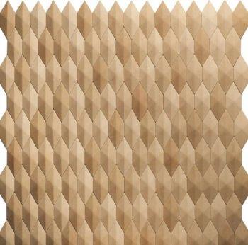 Камолов Декоративный камень, гипс Ромбы 1000 лет бурому (Premium)  В упаковке 0,5
